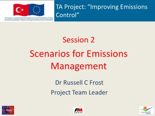 TA Project: �Improving Emissions Control�