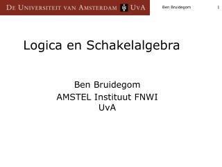 Logica en Schakelalgebra