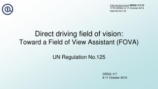 Driver Distraction:  A view from the simulator