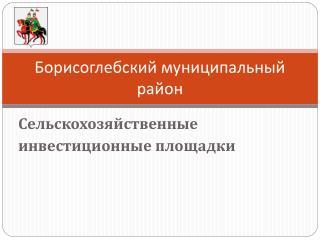 Борисоглебский муниципальный район