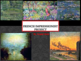 French impressionist project