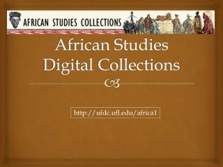 African Studies Digital Collections