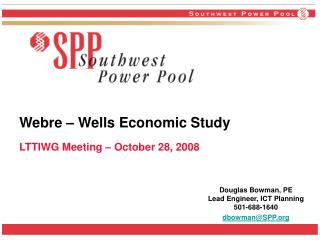 Webre � Wells Economic Study