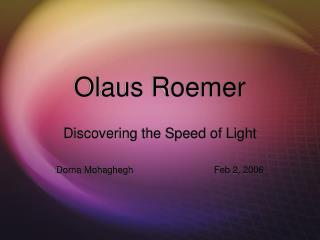 Olaus Roemer