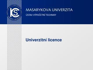 Univerzitní licence