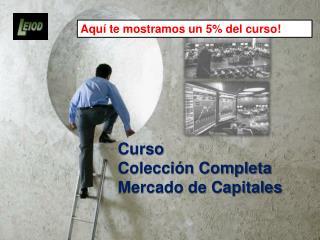 Curso  Colección Completa Mercado de Capitales