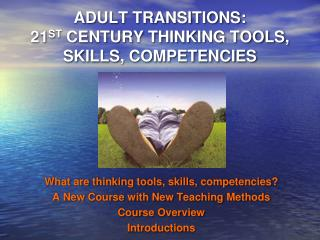 ADULT TRANSITIONS:  21 ST  CENTURY THINKING TOOLS, SKILLS, COMPETENCIES