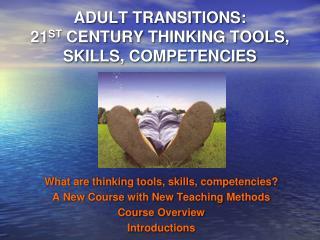 ADULT TRANSITIONS:  21 ST  CENTURY THINKING TOOLS, SKILLS, COMPETENCIES