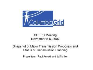 CREPC Meeting November 5-6, 2007