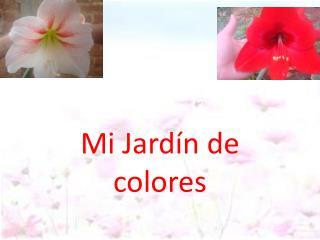 Mi Jardín  de colores