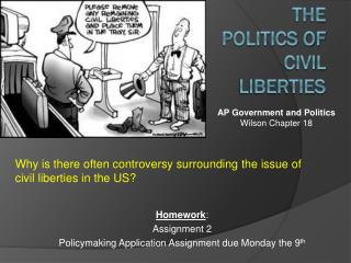 The Politics of Civil Liberties