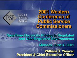2001 Western Conference of Public Service Commissioners