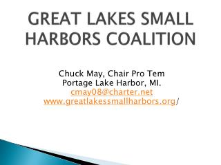 GREAT LAKES SMALL HARBORS COALITION
