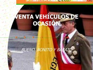 VENTA VEHÍCULOS DE OCASIÓN