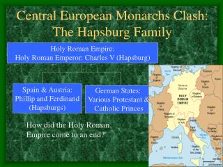 Central European Monarchs Clash: The Hapsburg Family