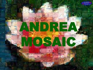 ANDREA MOSAIC