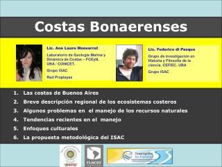 Las costas de Buenos Aires   Breve descripción regional de los ecosistemas costeros