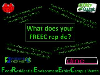 What does your FREEC rep do?