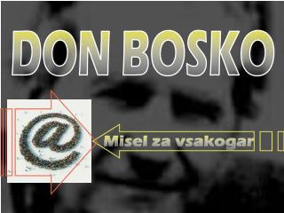 DON BOSKO