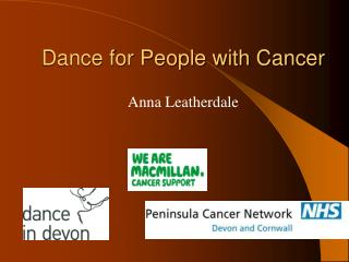 Dance for People with Cancer