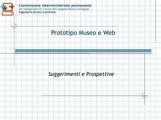 Prototipo Museo e Web