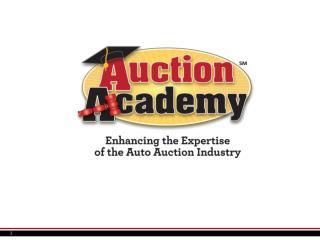 Auto Auctions 101