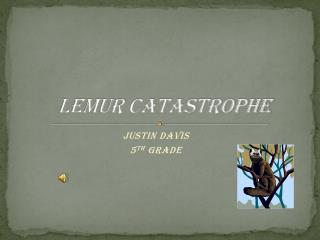 Lemur catastrophe