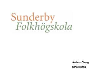 Anders Öberg Nina Ivaska