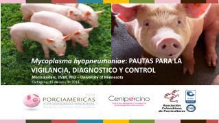 Mycoplasma hyopneumoniae : PAUTAS PARA LA VIGILANCIA, DIAGNOSTICO Y CONTROL