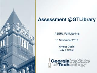 Assessment @ GTLibrary