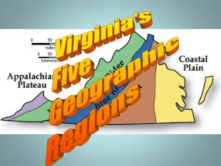 Virginia's Five Geographic Regions