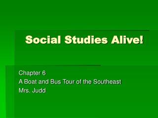 Social Studies Alive!