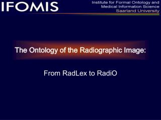 The Ontology of the Radiographic Image: