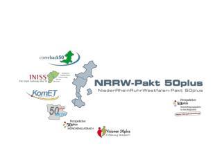 Ziele und Herausforderungen  des NRRW-Paktes 50plus