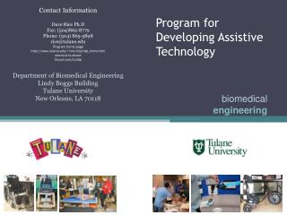 Program for Developing Assistive Technology