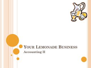 Your Lemonade Business