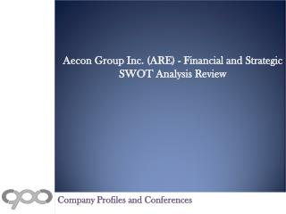 Aecon Group Inc. (ARE) - Financial and Strategic SWOT Analys