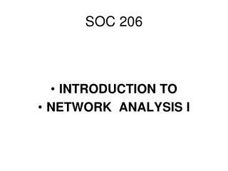 SOC 206
