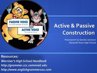 Active & Passive Construction