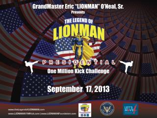 One Million Kick Challenge September  17, 2013