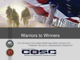 Warriors to Winners