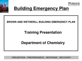 Building Emergency Plan