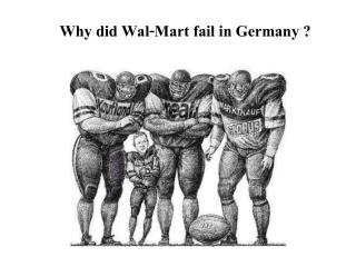 Why did Wal-Mart fail in Germany