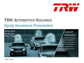 TRW Automotive Holdings
