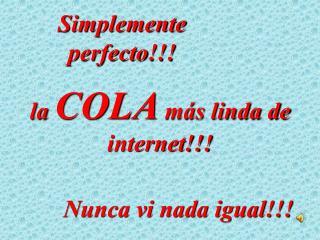 Simplemente perfecto !!!
