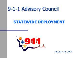 9-1-1 Advisory Council