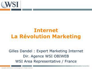 Internet La R�volution Marketing