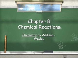 Chapter 8 Chemistry