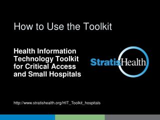 How to Use the Toolkit