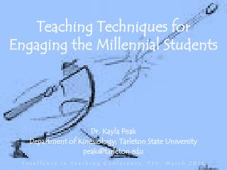 Teaching Techniques for Engaging the Millennial Students